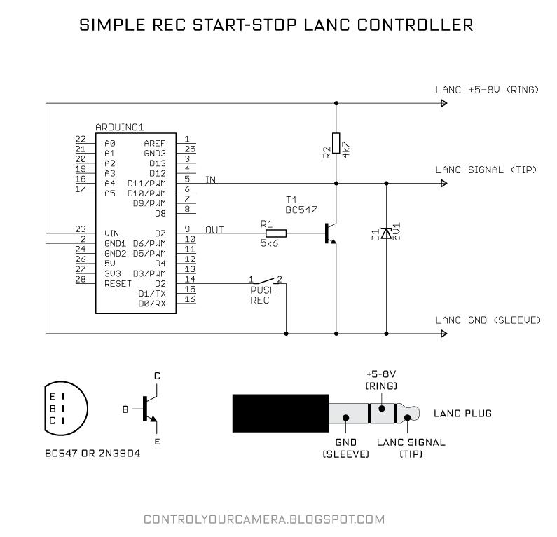 LANC control — Parallax Forums