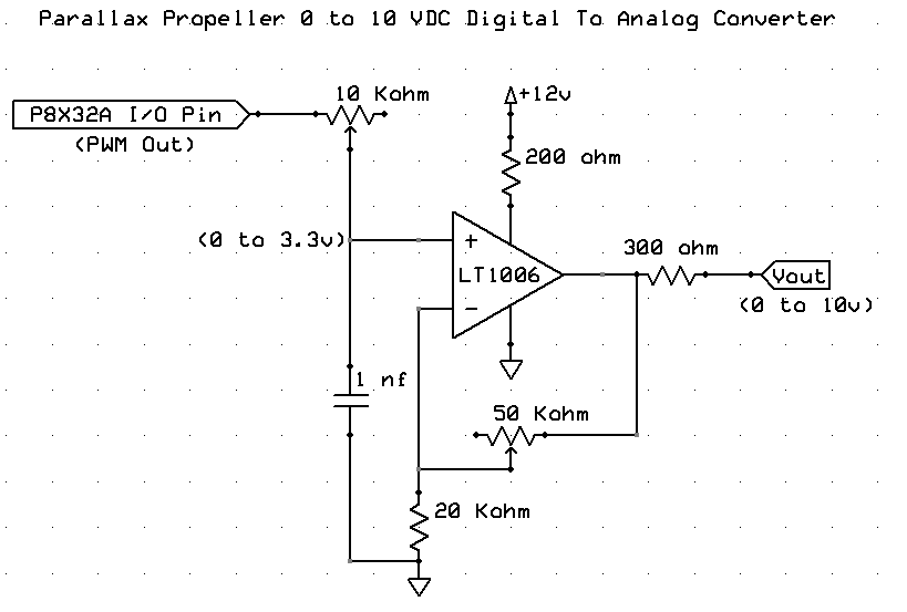 Simple PWM to Analog Circuit (0-10vdc) — Parallax Forums