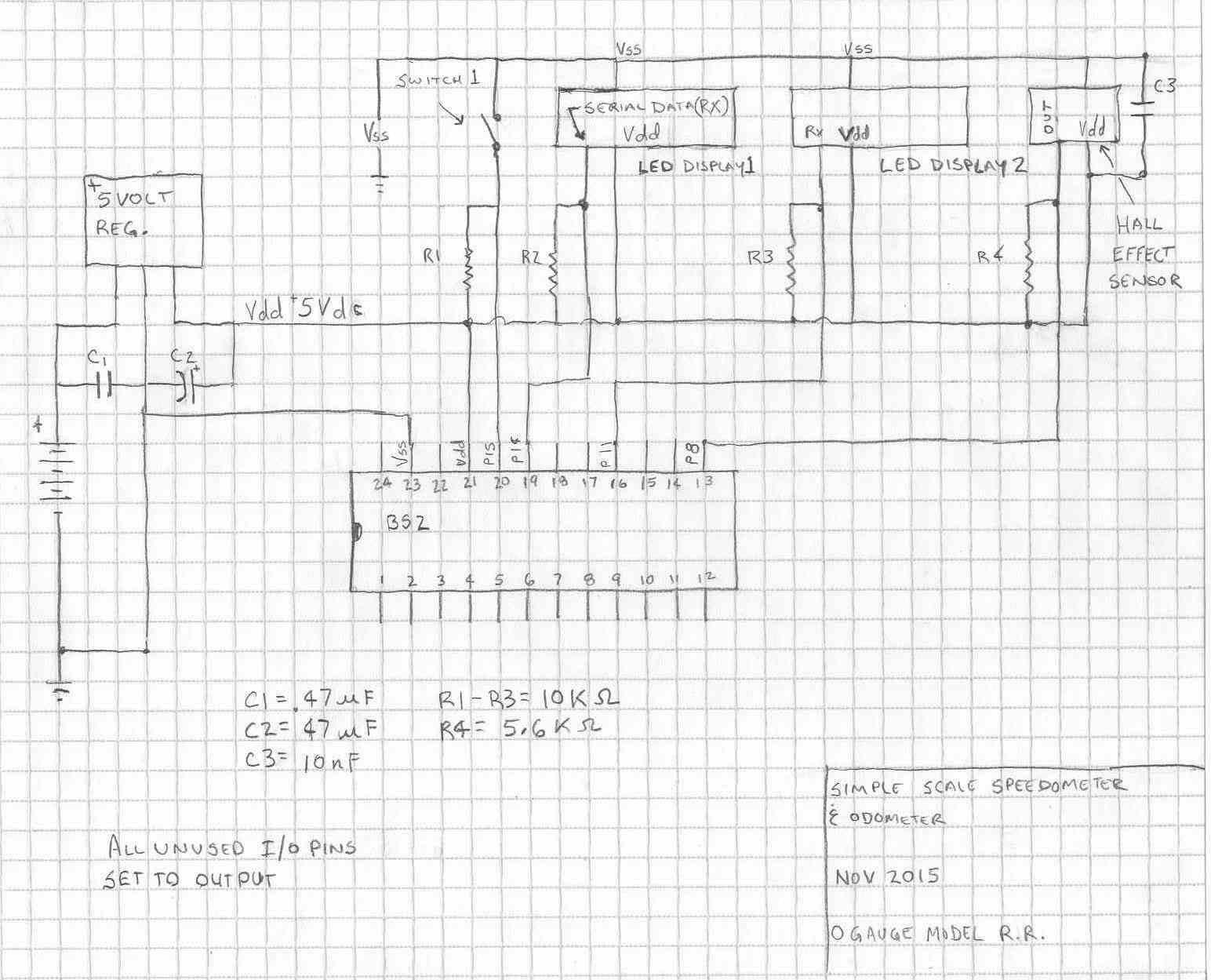 model train speedometer and odometer  u2014 parallax forums