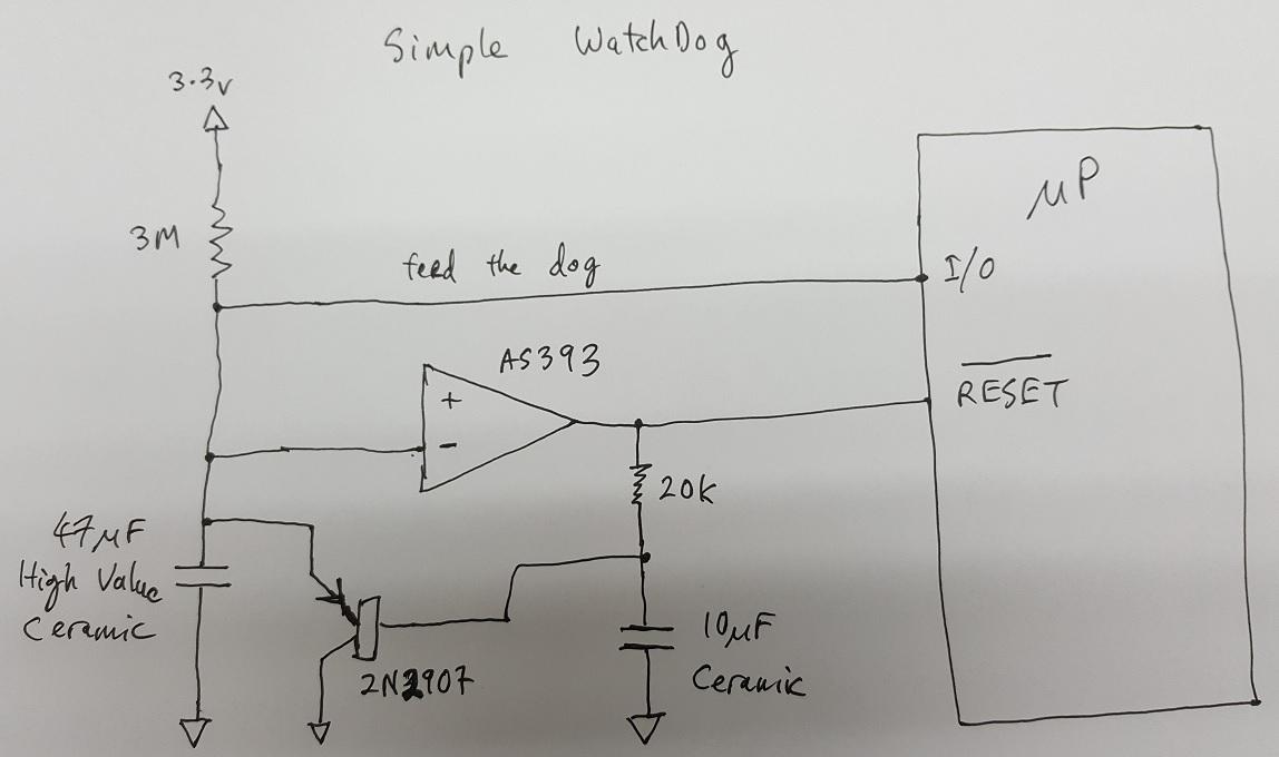 Simplest watchdog circuit — Parallax Forums