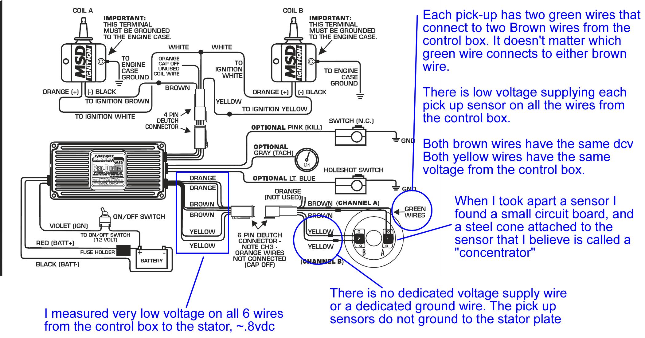 msd pick up coil wiring diagram. Black Bedroom Furniture Sets. Home Design Ideas