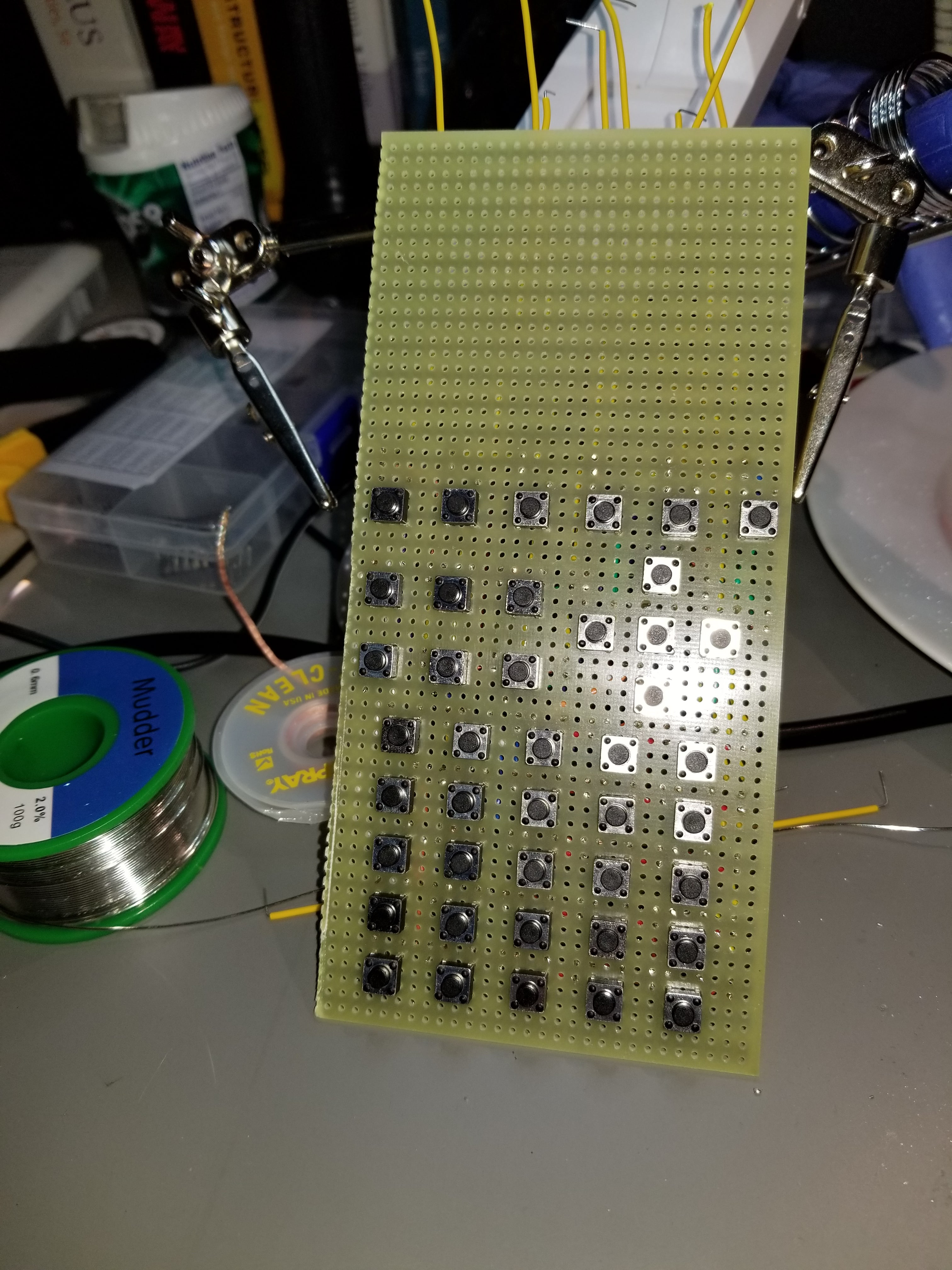 42 Key Keypad On 5 Wires Complete Parallax Forums First Step Into Programming Propeller 20171128 235448 Min
