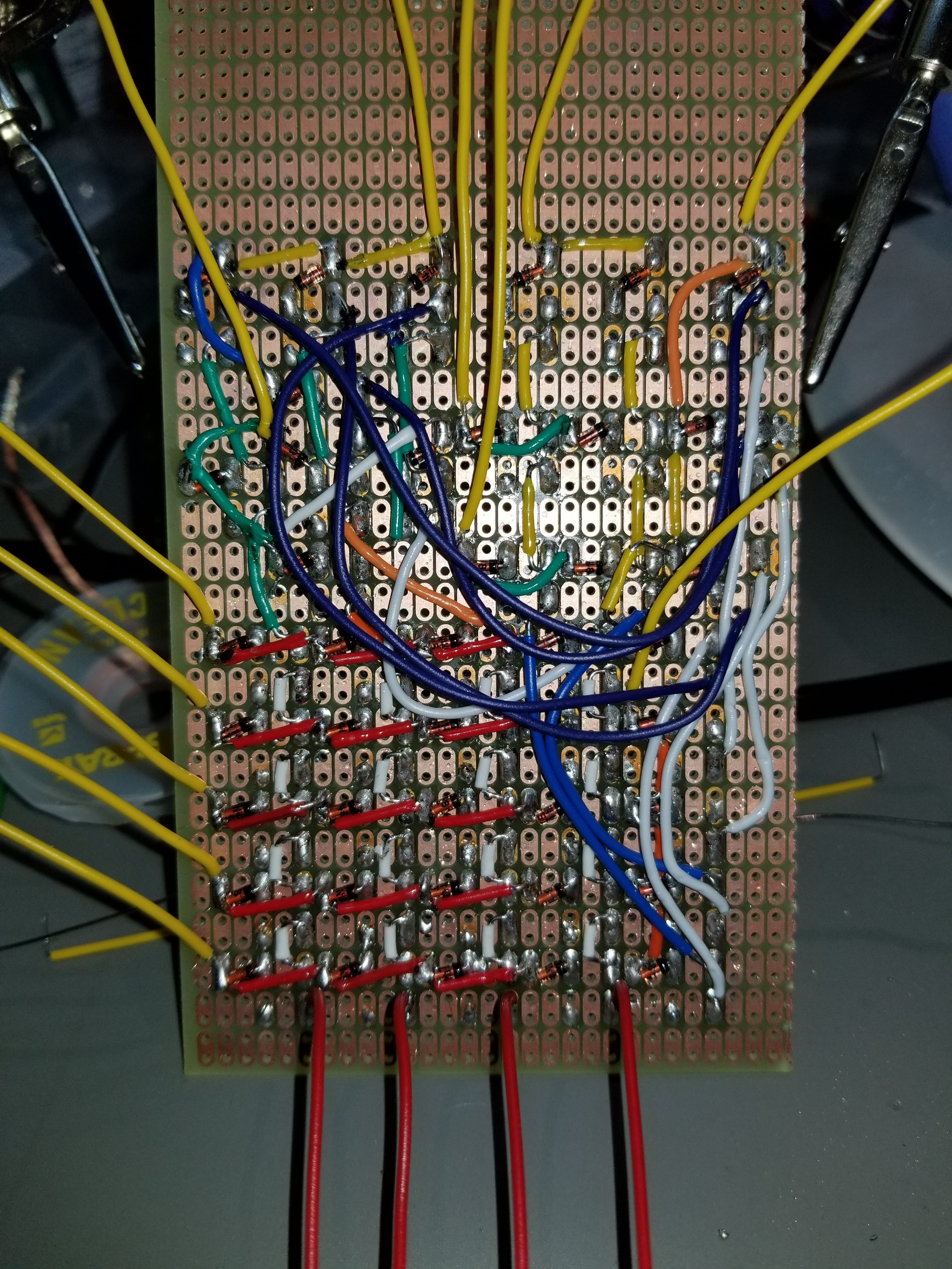42 Key Keypad On 5 Wires Complete Parallax Forums First Step Into Programming Propeller 20171128 235623 Min