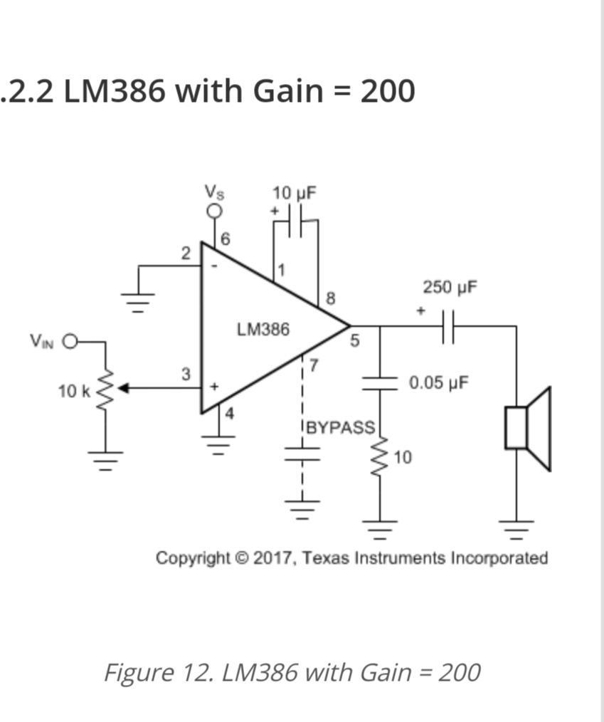 Lm386n Audio Amp Driven With Propeller Parallax Forums Low Voltage Power Amplifier Lm386 Screenshot 2018 03 05 20 27 1