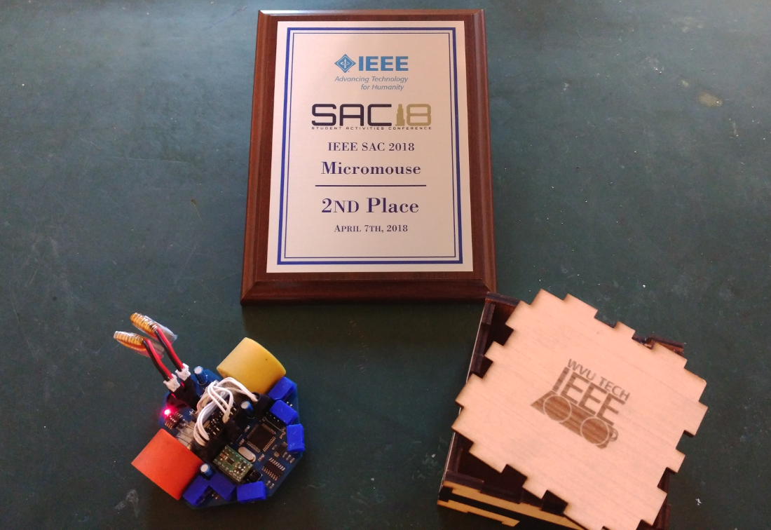 PropMou8e - Propeller-based maze-solving micromouse competition