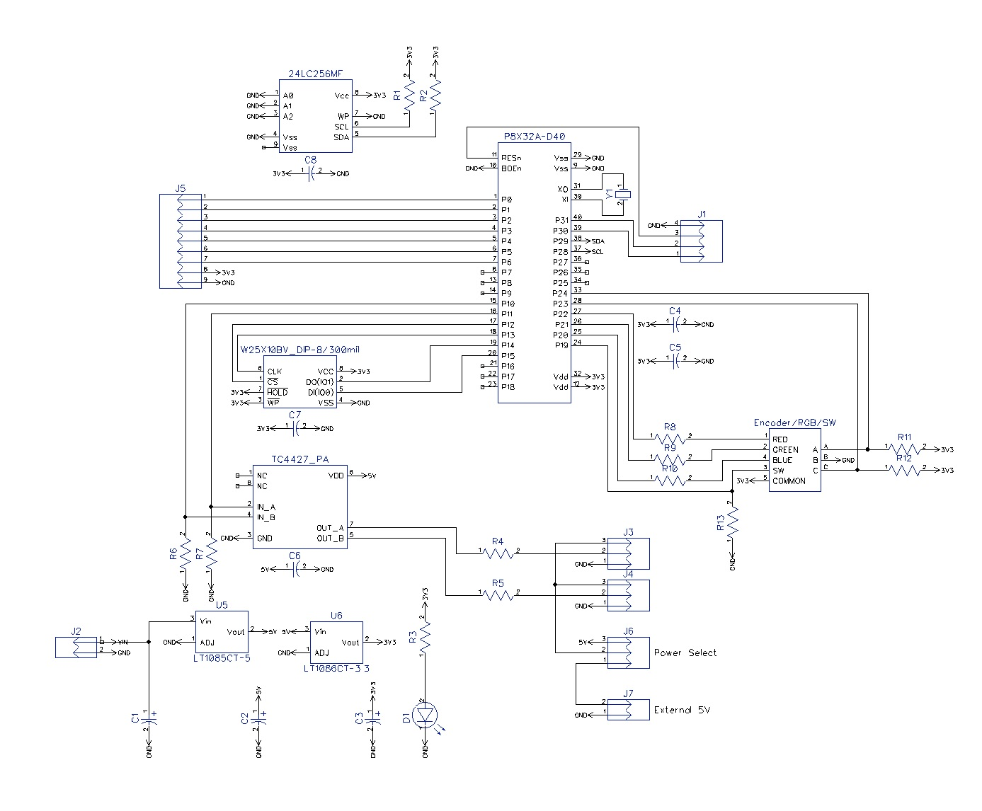 Propeller Pcb Layout Template And First Attempt Parallax Forums Technical Expresspcb Schematic Design Software New Version Dbetz