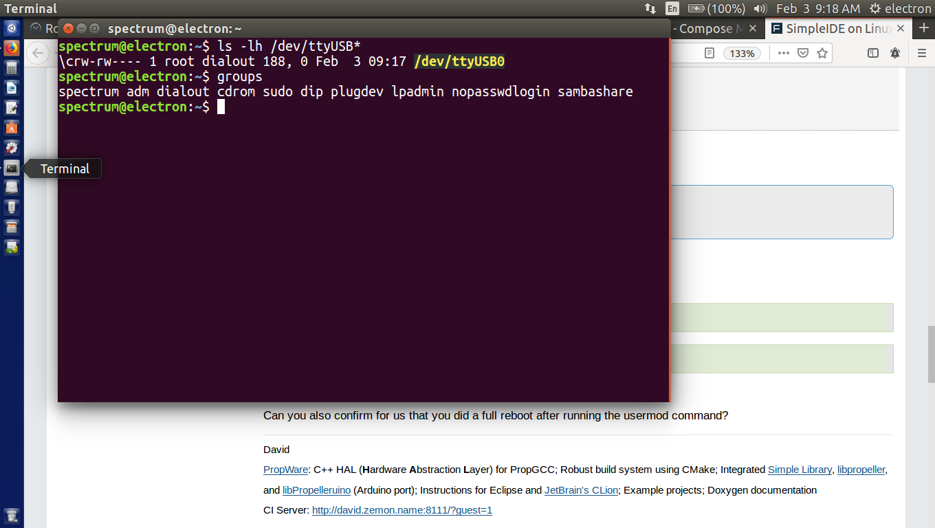SimpleIDE on Linux — Parallax Forums