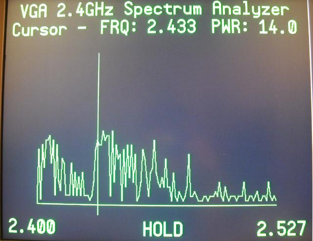 Cheap Prop 2 4GHz VGA Spectrum Analyzer — Parallax Forums