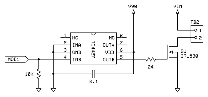 mosfets and the propeller  u2014 parallax forums