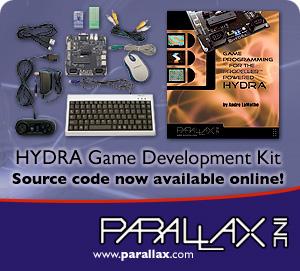 hydra parallax