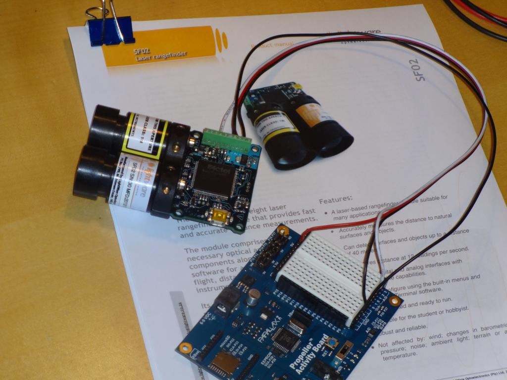 C Code Review For Sf02 Laser Rangefinder To Propeller Parallax Forums First Step Into Programming Photo
