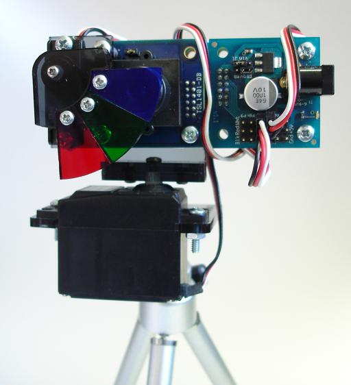 Full Color Imaging with the TSL1401 Linescan Sensor Module