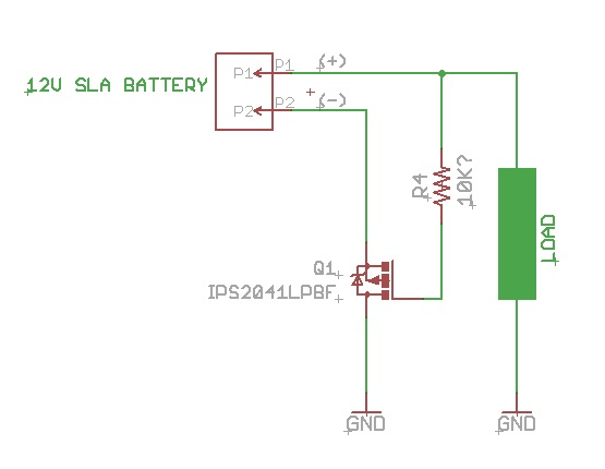 Reverse Polarity Protection Using a Smart Low-Side Switch