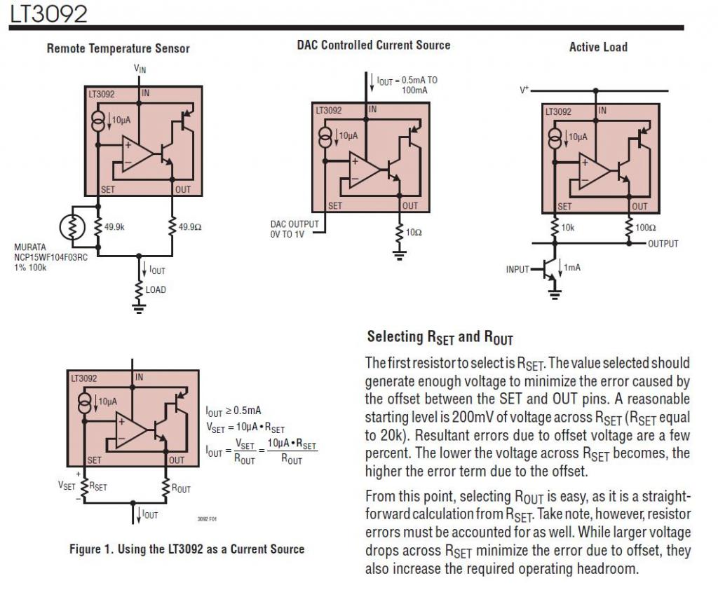 Lm10 And Its Ilk In Circuits Parallax Forums Transistor Current Source Lt3092 Apps
