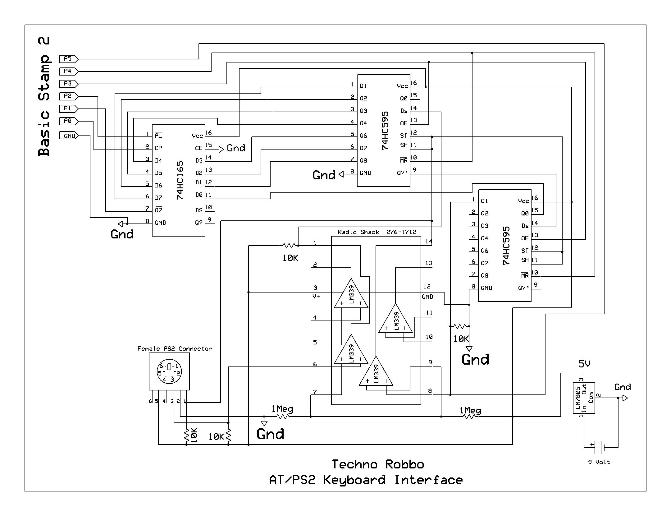 Wiring Diagram For Computer Keyboard Trusted Desktop Pc Schematic Enthusiast Diagrams U2022