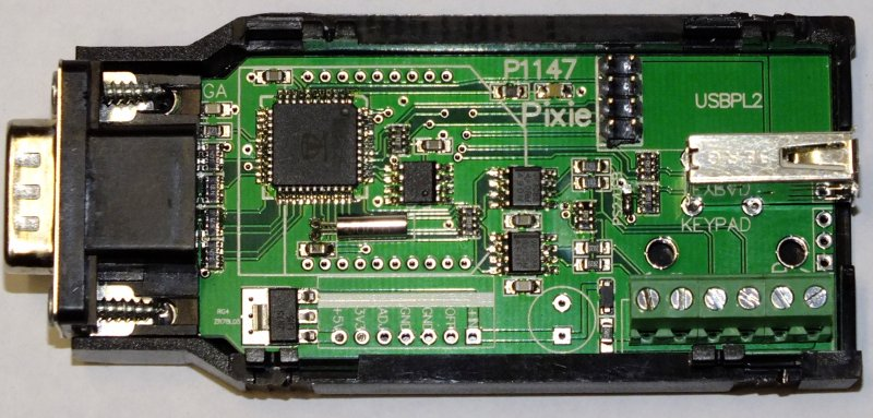 PocketTerml - a great VGA VT100 terminal for RS-232 and RS