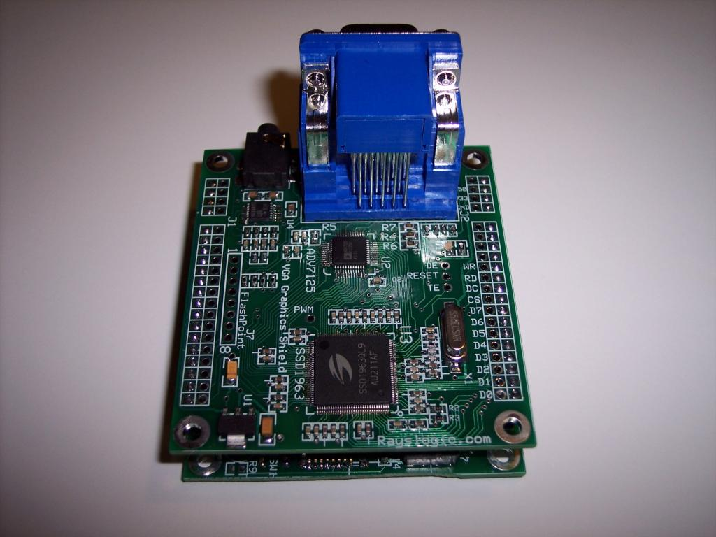Vga Graphics Shield Now Available Parallax Forums First Step Into Programming Propeller Vgs Proto2