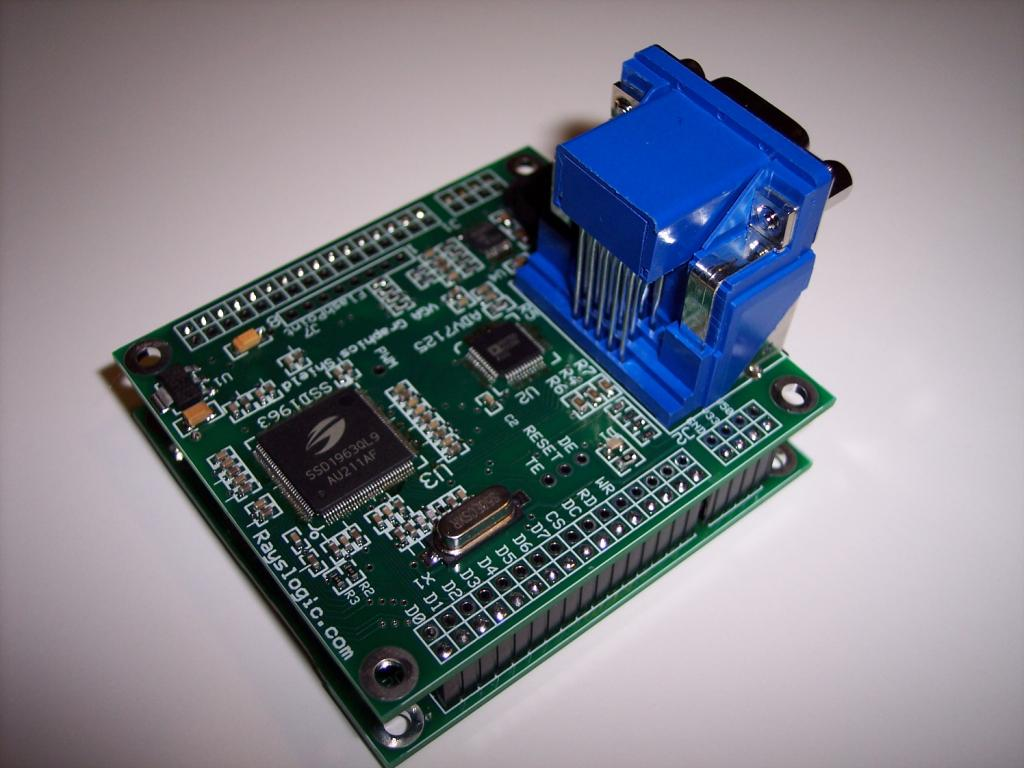 Vga Graphics Shield Now Available Parallax Forums First Step Into Programming Propeller Vgs Proto4