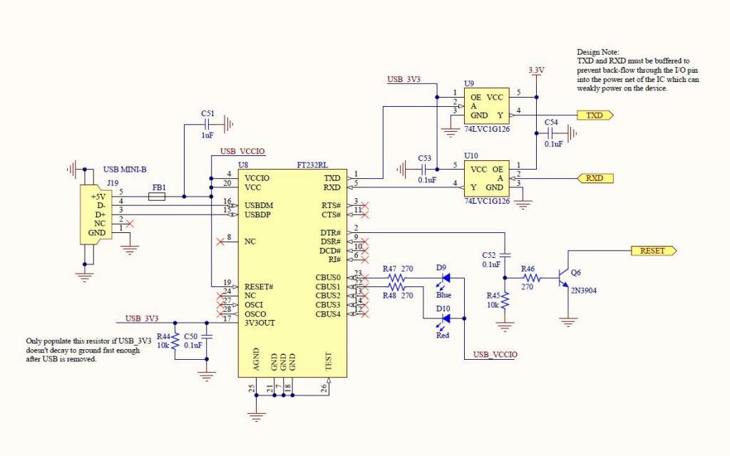 ftdi usb interface to propeller circuit variations