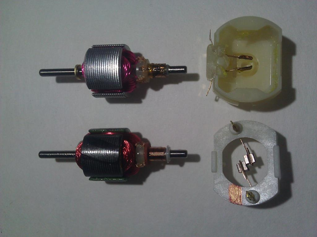 Mabuchi Motors voltage greater than 3v — Parallax Forums