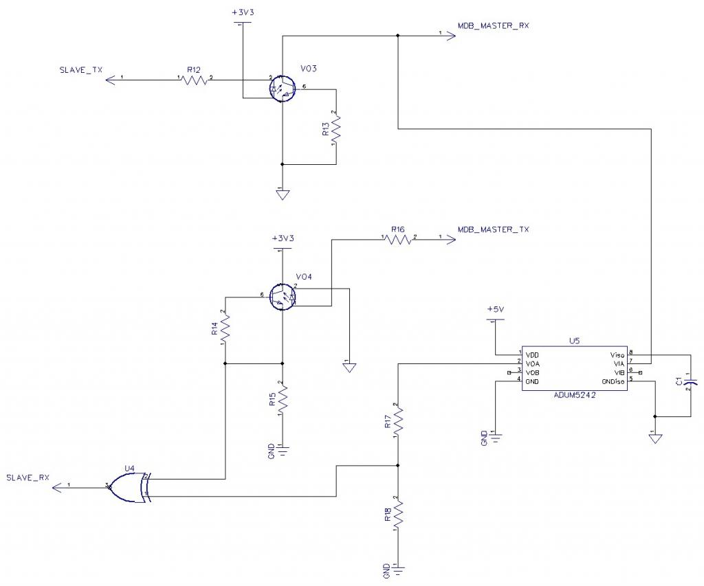 Looking For A Digital Isolator Ic Parallax Forums Master Logic Diagram Mdb Sniffer Opto 2