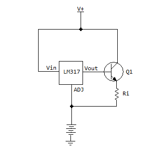 Problems with a super simple lm317 charger circuit