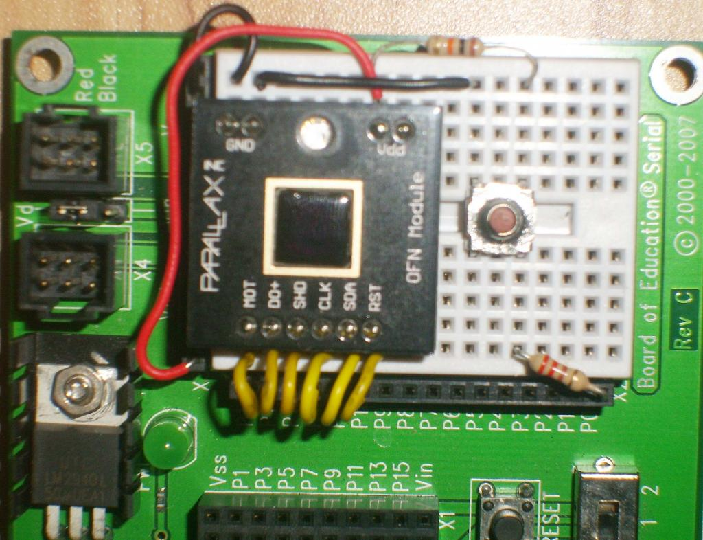 Mini Project Emulate A Microsoft Serial Ballpoint Mouse Parallax Electronics Projects Circuit Stp627642