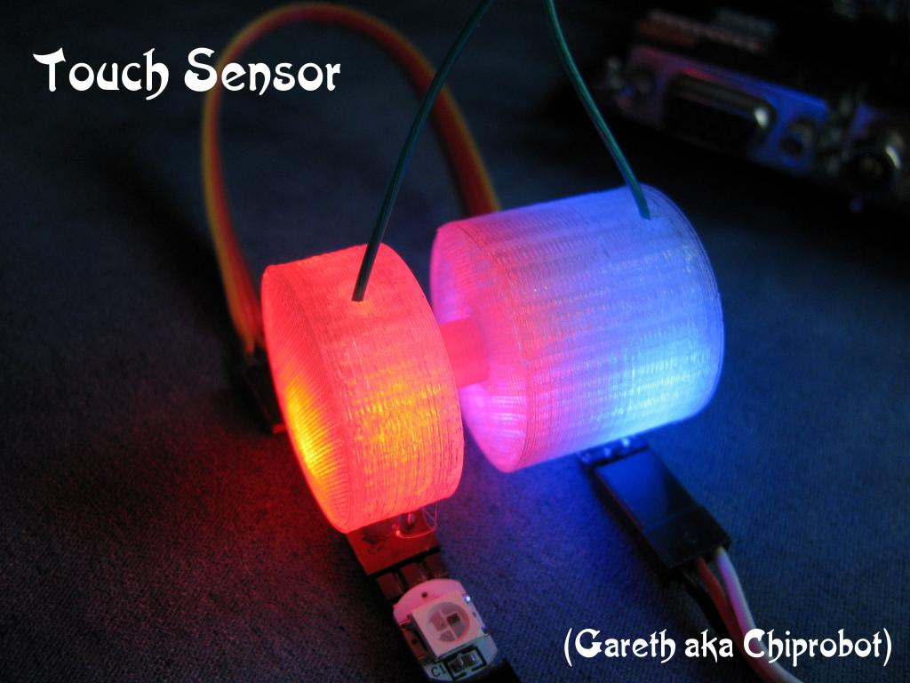 3D printed Touch Sensor - Cost effective Displacement type