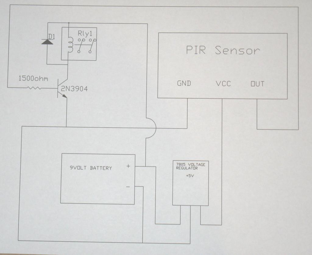 questions about how cold temperature affects parallax pir