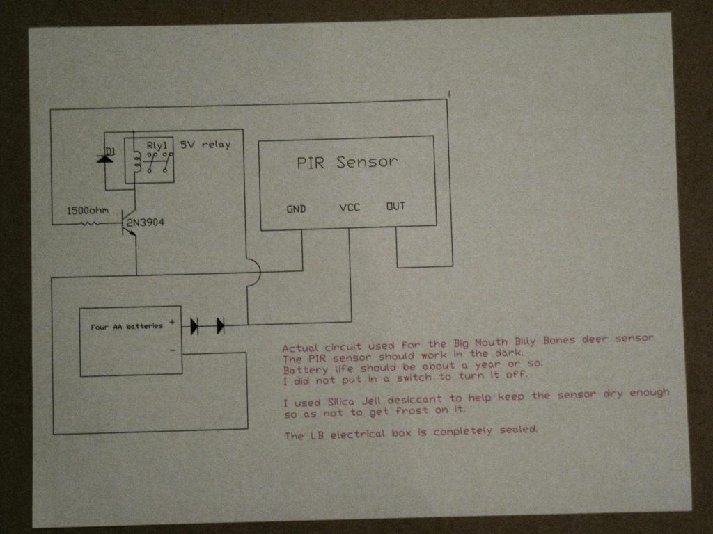 Questions About How Cold Temperature Affects Parallax Pir Sensor 555 Circuitjpg 6v Relay Circuit
