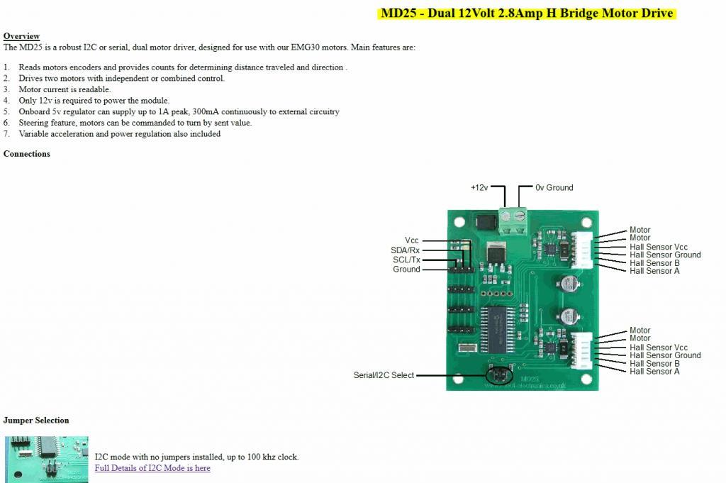 I want to use a DC motor (EMG30) which 2 hall sensor outputs
