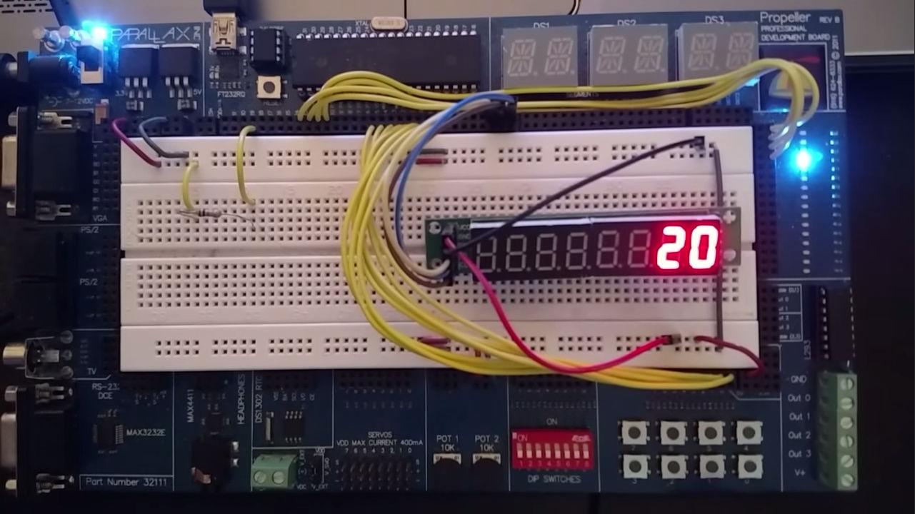Controlling A 4 Digit 7 Segment Display Parallax Forums Arduino Led Seg