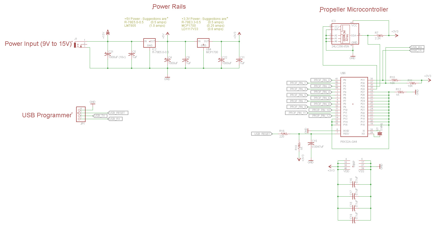propeller circuit template and best practices  u2014 parallax
