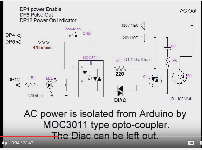 Controlling Ac Universal Motor Blower With A Propeller