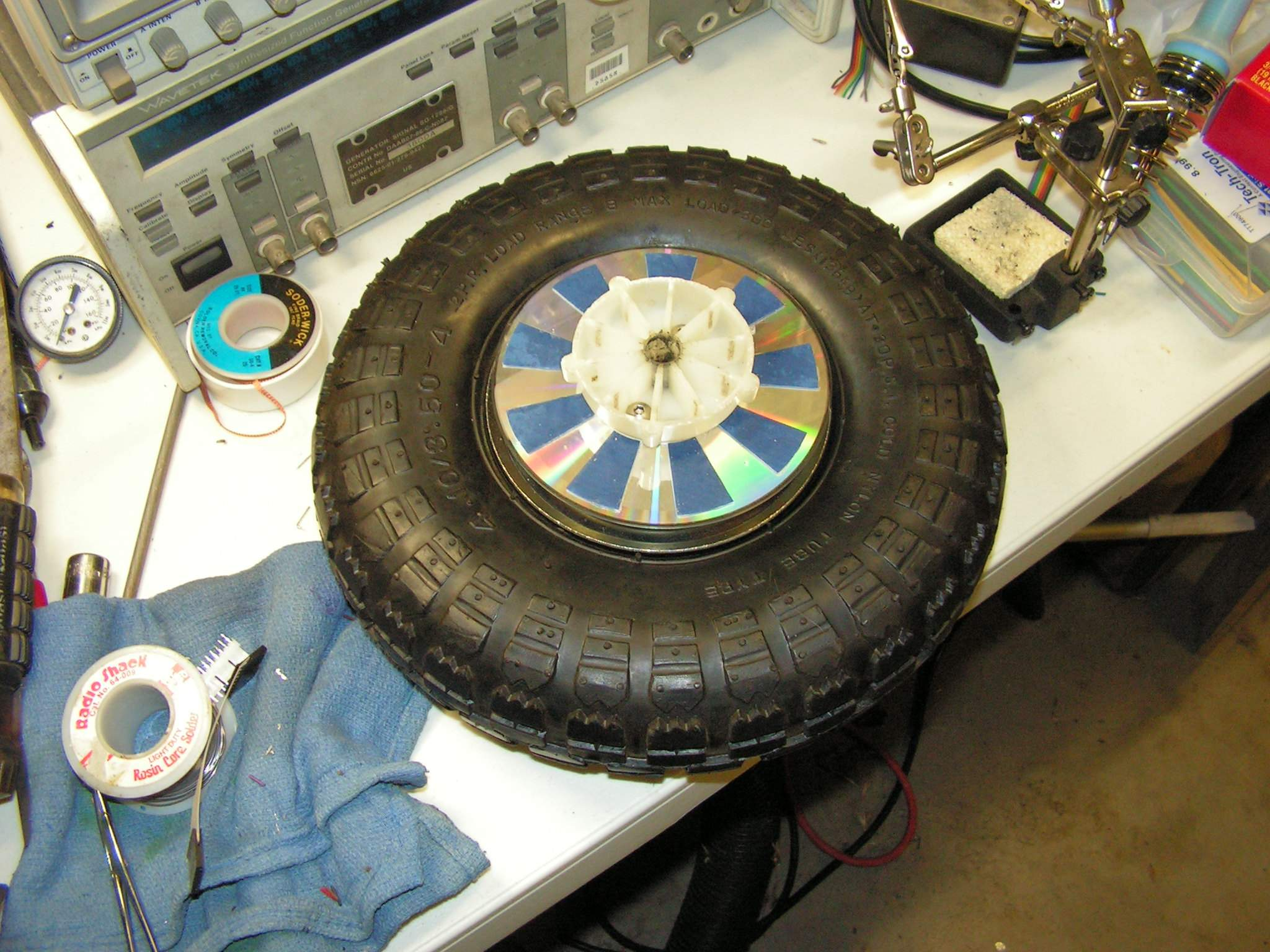 how to make a decoder wheel