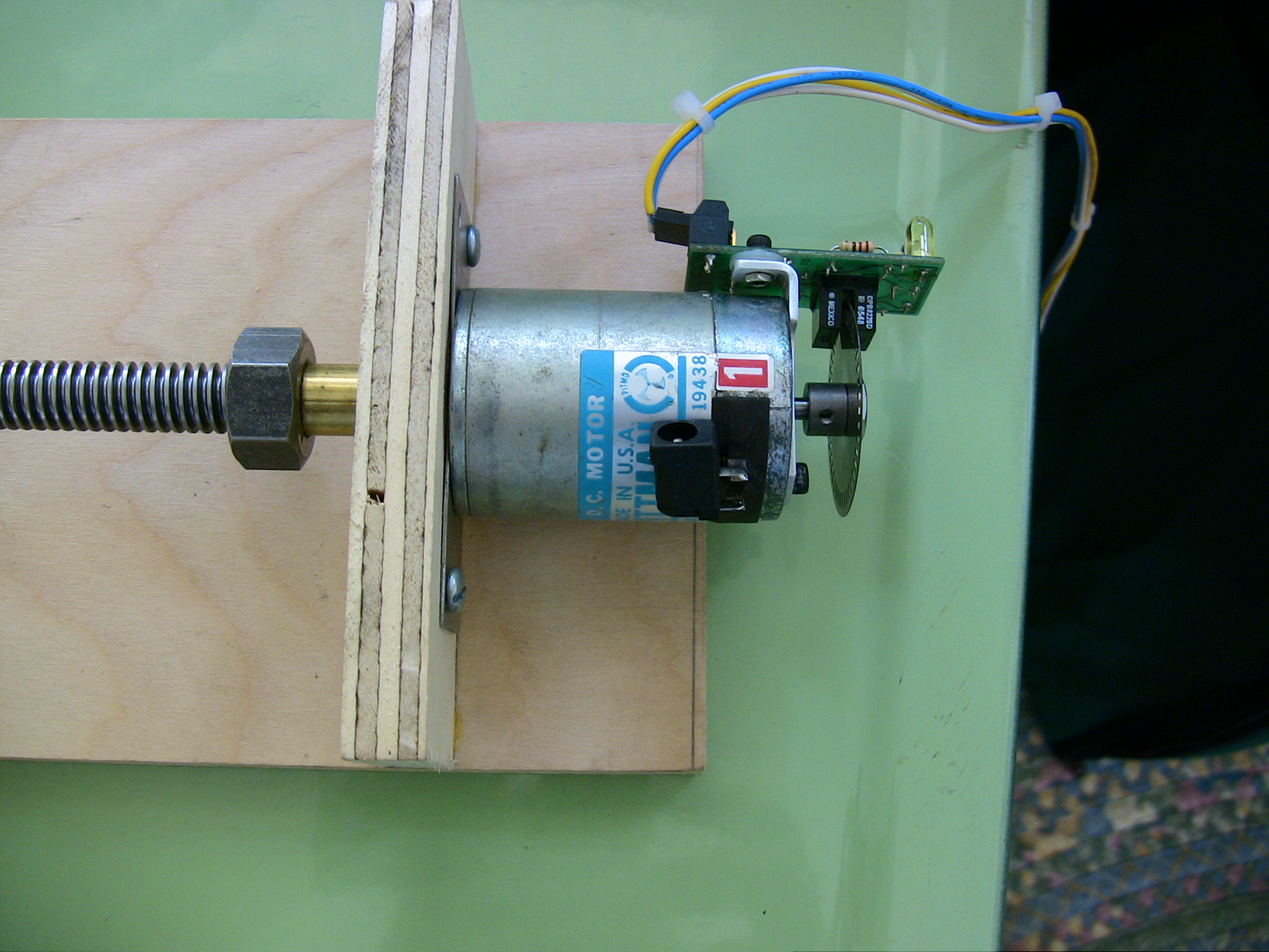 Using An Encoded Dc Motor As A Stepper Equavalent Cnc