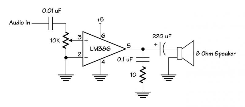 simple circuit using audio to light led  u2014 parallax forums