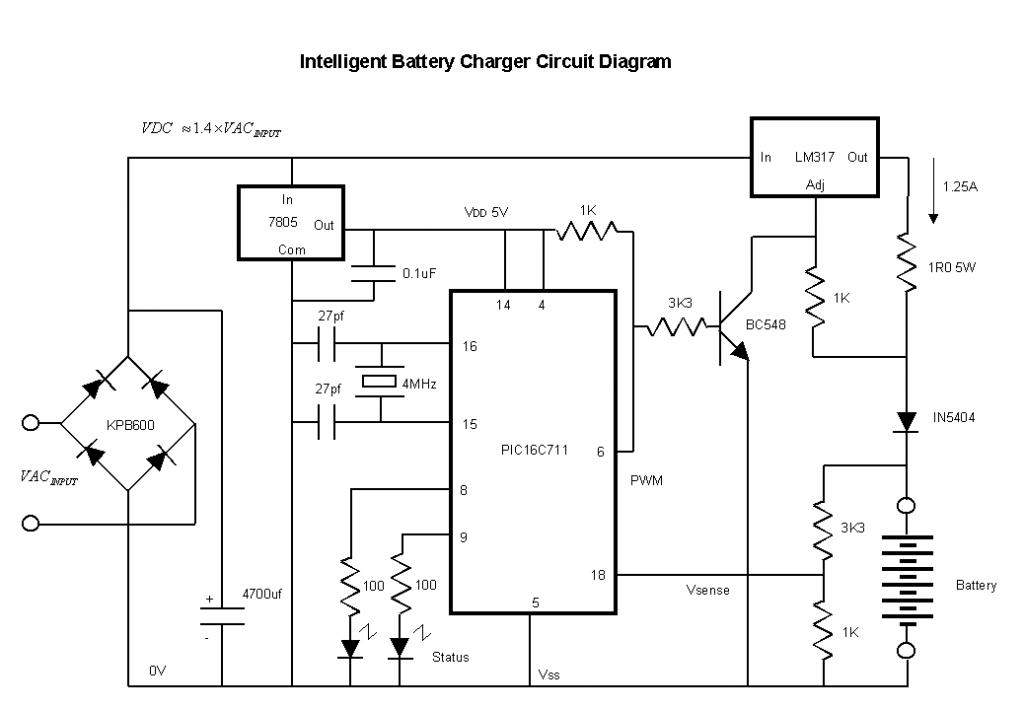 Pwm Output From A Basic Stamp To Power A Battery To Charge