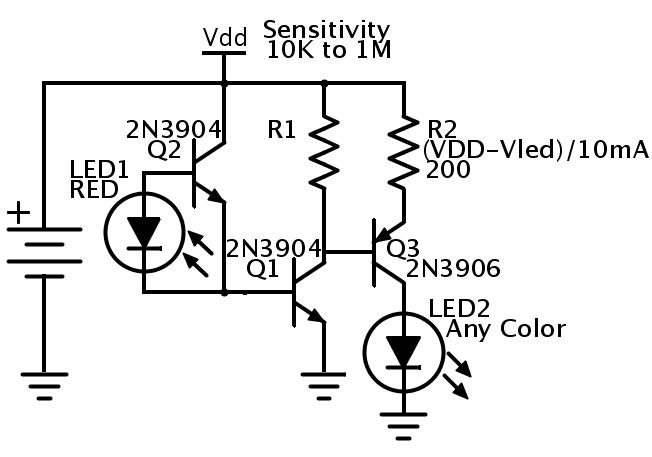 phototransistor vs photoresistor  u2014 parallax forums