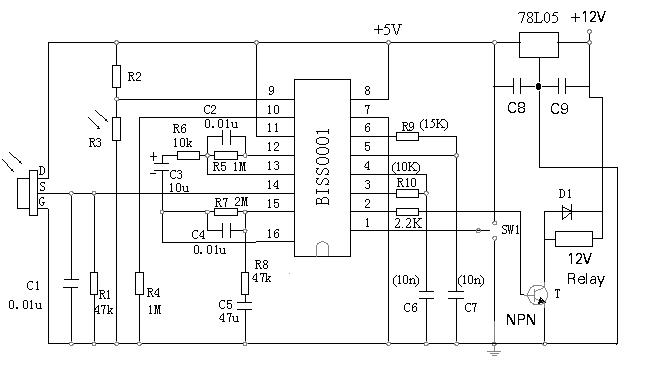 pir schematic pir sensor trigger — parallax forums #14