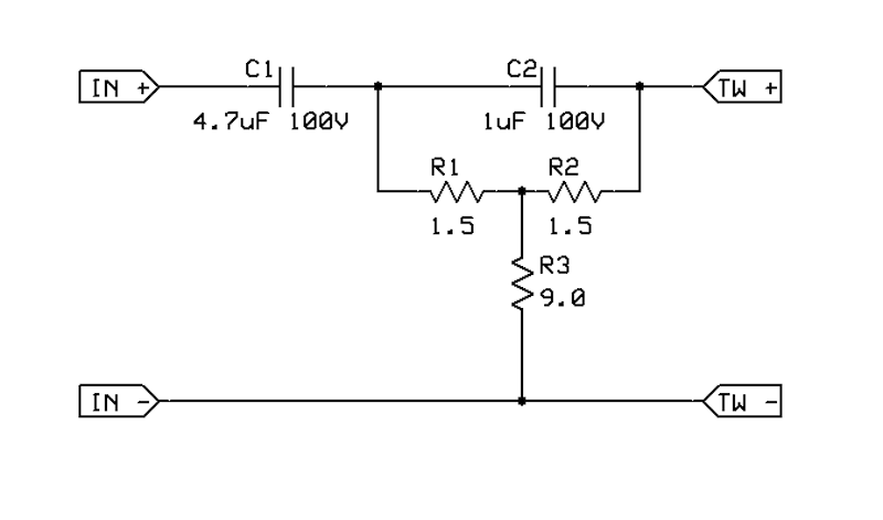 speaker crossover power calculation question  u2014 parallax forums