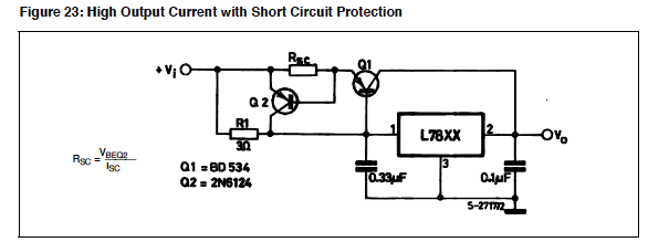 a question of linear voltage regulator circuits   answered