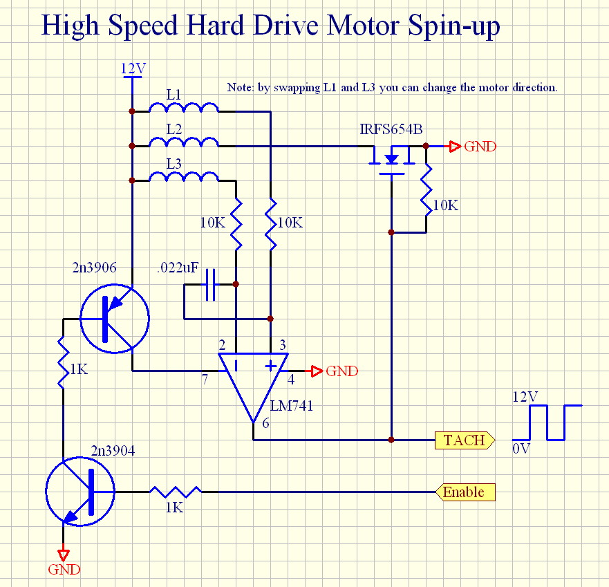 wiring diagram hard drive motor wiring image hard drive stepper motor high speed spin up circuit on wiring diagram hard drive motor