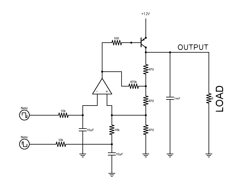 Simple Pwm To Analog Circuit 0 10vdc Parallax Forums