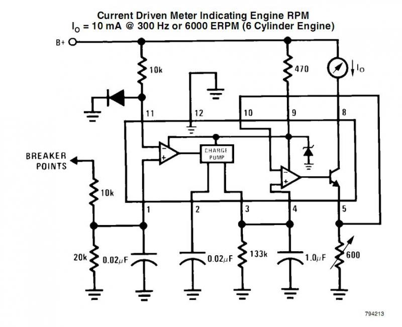 1969 Chevelle Tachometer Wiring Diagram Schematic together with 3085730 81 Gas Gauge Pegged Way Past Full furthermore 1980 Toyota Pickup Wiring Diagram besides Print further DIY LED Tachomter RPM Gauge L45689. on tachometer schematic
