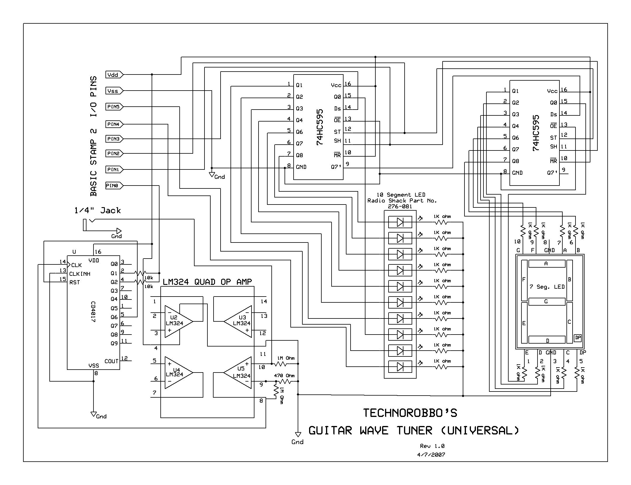 Le9 Wiring Diagram Free For You Jack Radio Shack Transformer Diagrams Basic Electrical Schematic