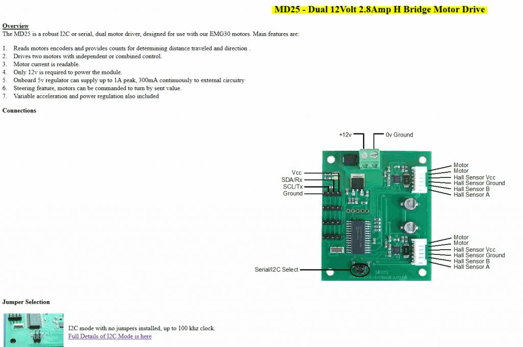 i want to use a dc motor emg30 which 2 hall sensor outputs md25 motor drive jpg
